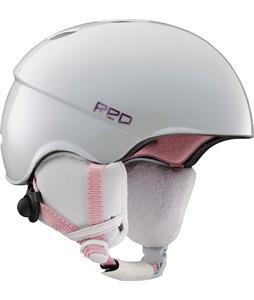 Red Hi-Fi Snowboard Helmet White Pearl