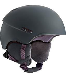 Red Hi-Fi Snowboard Helmet Satin Gray