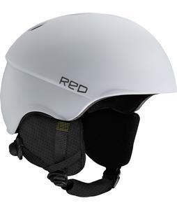 Red Hi-Fi w/ Mips Snowboard Helmet White Matte