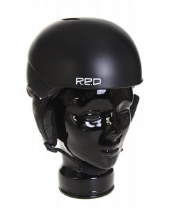 Red Hi Fi Youth Snowboard Helmet Shaun White Black