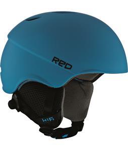 Red Hi-Fi Snowboard Helmet Blue