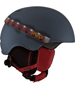 Red Hi-Fi Snowboard Helmet Crystal King