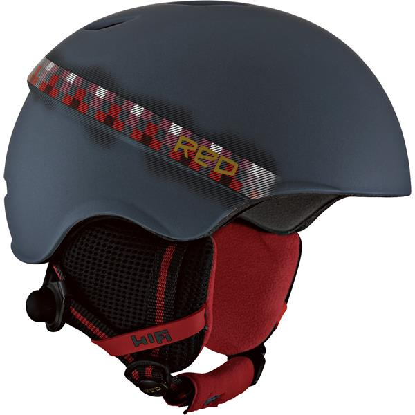 Red Hi-Fi Snow Helmet