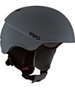 Red Hi-Fi Snowboard Helmet Grey