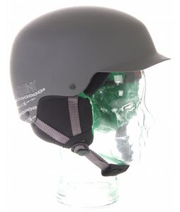 Red Mutiny Snowboard Helmet Grey