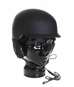 Red Mutiny Audio Snowboard Helmet