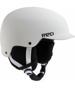 Red Mutiny Snowboard Helmet White