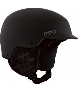 Red Mutiny Snowboard Helmet Black