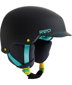 Red Mutiny Snowboard Helmet Grayical