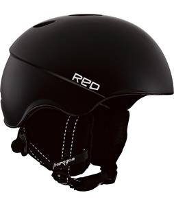 Red Paragon Snowboard Helmet Black