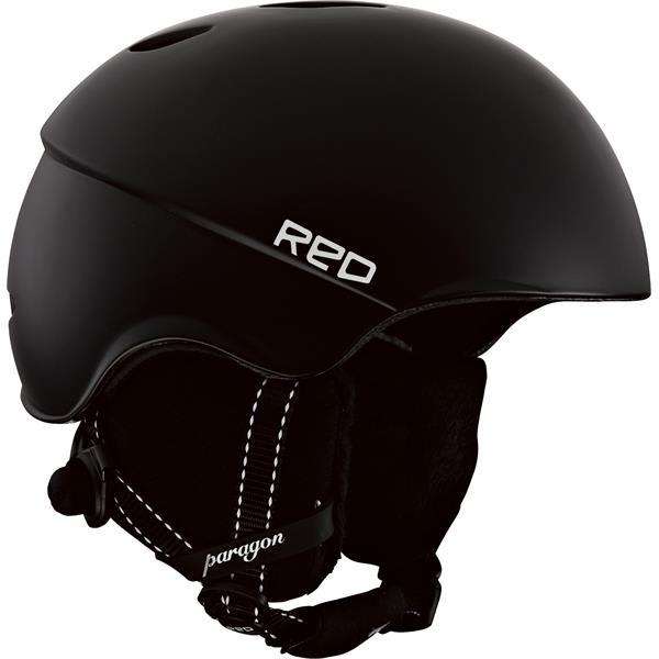 Red Paragon Snow Helmet