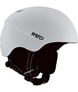 Red Paragon Snowboard Helmet White