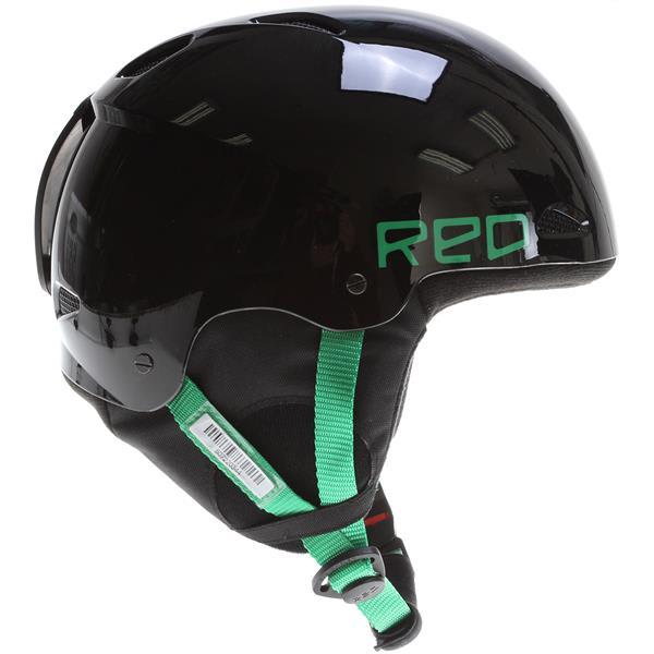 Red Progression Snow Helmet