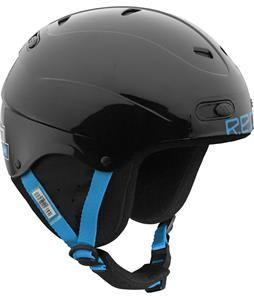 Red Progression Skycap Snowboard Helmet Black