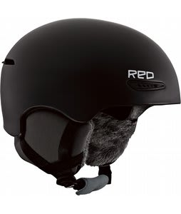 Red Pure Snowboard Helmet Black