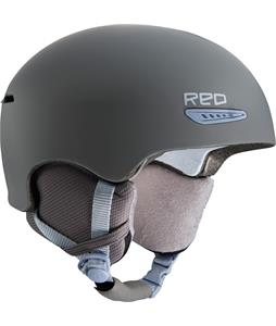 Red Pure Snowboard Helmet Gray