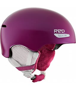 Red Pure Snowboard Helmet Pink