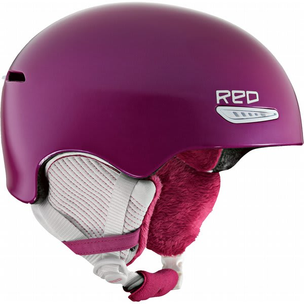 Red Pure Snow Helmet