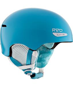 Red Pure Snowboard Helmet Blue
