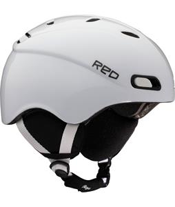 Red Reya Classic Snowboard Helmet White