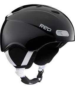 Red Skycap Classic Snowboard Helmet Black