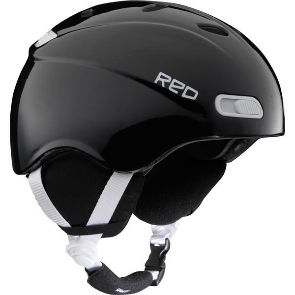 Red Skycap Classic Snow Helmet