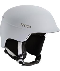 Red Theory Snowboard Helmet White