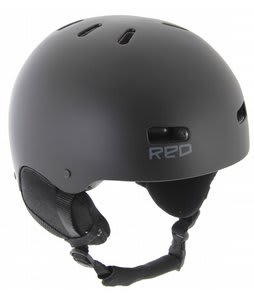 Red Trace II Audio Snowboard Helmet Black