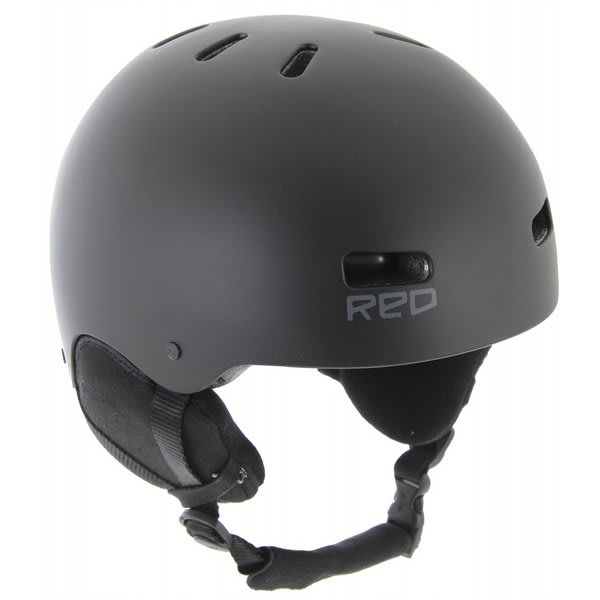 Red Trace II Audio Snow Helmet