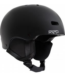 Red Trace Grom Snowboard Helmet Black