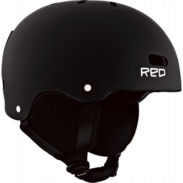 Red Trace Grom Snow Helmet