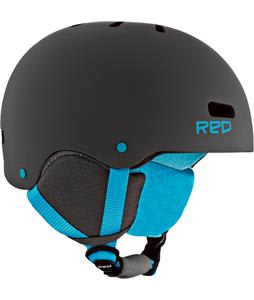 Red Trace Grom Snowboard Helmet Grey