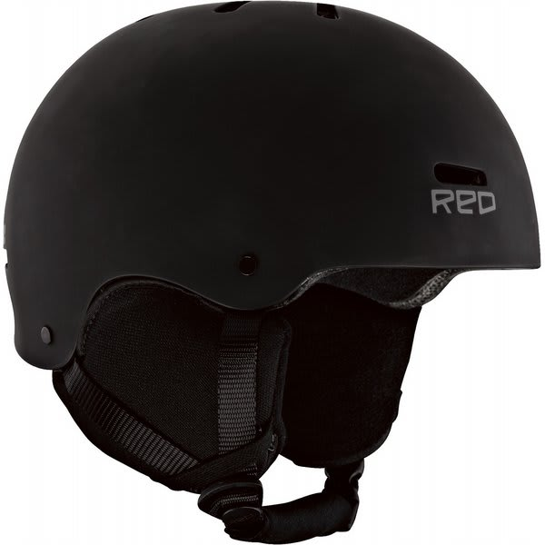 Red Trace Snow Helmet