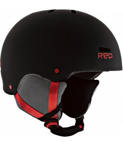 Red Trace Snowboard Helmet Black/Red