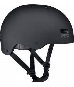 Red Trace Raw Snow Helmet