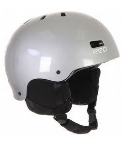 Red Trace 2 Snowboard Helmet Gray