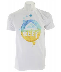 Reef Circo Drip T-Shirt White