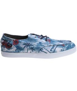 Reef Deckhand 2 Prints Shoes Blue Tropical Hawaiian