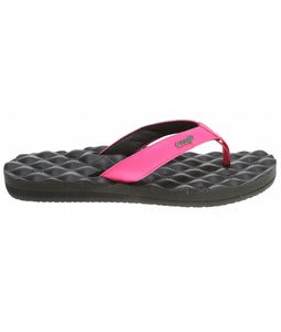 Reef Dreams Sandals Black/Hot Pink