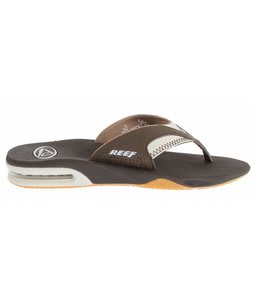 Reef Fanning Sandals Dark Brown Vapor