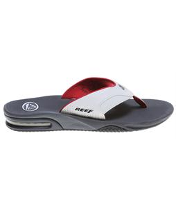Reef Fanning Sandals White/Dark Grey