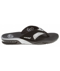 Reef Fanning Luxe Sandals Black/Silver/Glitter
