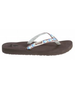 Reef Ginger Sandals Brown/White/Blue