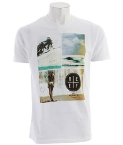 Reef Girl Falls T-Shirt White