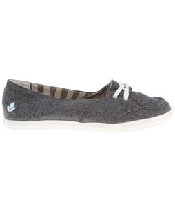 Reef Girls Deckhand Shoes Dark Grey