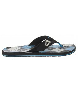 Reef Ht Prints Sandals Black/Blue Plaid