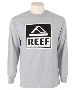 Reef Logo L/S Shirt Heather Grey