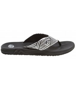 Reef Phantoms Prints Sandals White Stripes