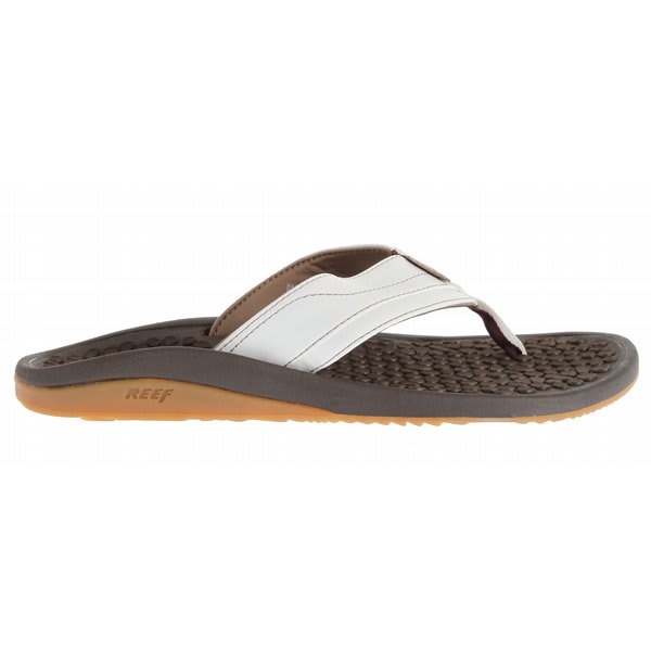 Reef Playa Negra Sandals Brown/White