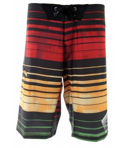 Reef Plaid Conflict Boardshorts Rasta
